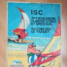 Carteles de Turismo: I ENCUENTRO DE WINDSURF Y VELA DE VELOCIDAD. LE TOUQUET. MAYO 1982.. Lote 218811173