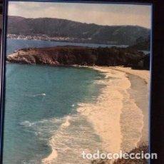 Carteles de Turismo: CUADRO - PÓSTER RÍA DO BARQUEIRO. GALICIA EDITA: SECRETARIA XERAL PARA O TURISMO. XUNTA DE GALICIA. Lote 219159848