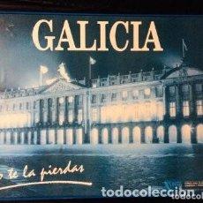 Carteles de Turismo: CUADRO - PÓSTER PAZO DE RAXOI. PLAZA OBRADOIRO (SANTIAGO). GALICIA, NO TE LA PIERDAS. D.X.TURISMO. Lote 219160116