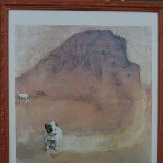 Carteles de Turismo: JUAN VIDA. PÓSTER DE LA RUTA DE LEÓN EL AFRICANO. DE ALMERÍA A GRANADA.BIEN ENMARCADO 107X76. Lote 220718097
