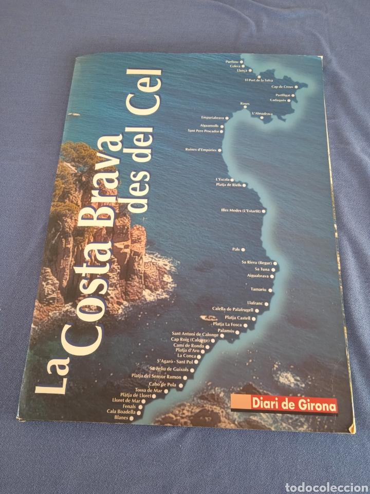 LA COSTA BRAVA DES DEL CEL. 40 LÁMINAS DE 40X29CM. (Coleccionismo - Carteles Gran Formato - Carteles Turismo)
