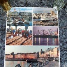 Carteles de Turismo: POSTER DE LA CORUÑA 0,68X0,48. Lote 222376250