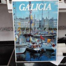 Carteles de Turismo: POSTER DE GALICIA. DARSENA DE LA MARINA DE LA CORUÑA. ENMARCADO.. Lote 222376722