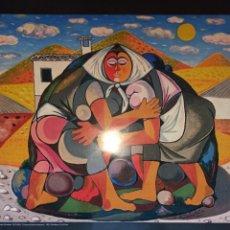 Carteles de Turismo: POSTER MUSEO ZABALETA, (QUESADA) JAÉN, PERFECTO ESTADO, GRAN TAMAÑO. Lote 225713340