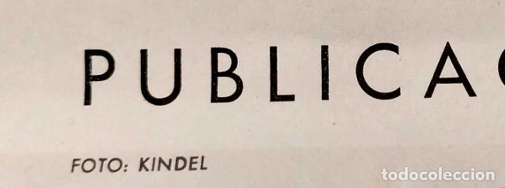 Carteles de Turismo: CARTEL: BELLEZAS DE ESPAÑA. VALENCIA. DIRECCIÓN GENERAL DEL TURISMO. KINDEL. 100 x 62 cm. - Foto 3 - 234891500