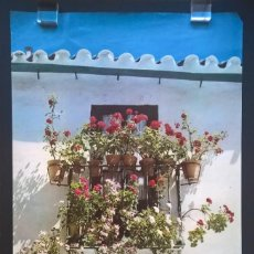 Carteles de Turismo: 7 CARTELES TURÍSTICOS: ANDALUCÍA. HUELVA, SEVILLA, TOLEDO, CUENCA, BERMEO, PIRINEOS. Lote 235021630