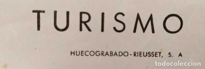 Carteles de Turismo: CARTEL: BELLEZAS DE ESPAÑA. RETORTILLO. SORIA. DIR.GRAL. DEL TURISMO. KINDEL. 100 x 62 cm. - Foto 5 - 235231780