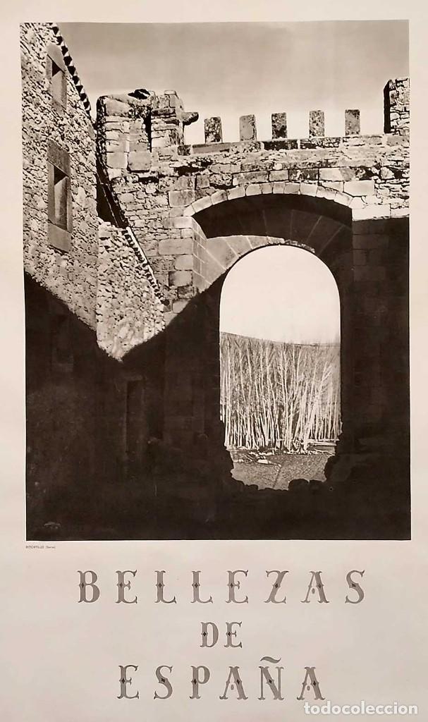 CARTEL: BELLEZAS DE ESPAÑA. RETORTILLO. SORIA. DIR.GRAL. DEL TURISMO. KINDEL. 100 X 62 CM. (Coleccionismo - Carteles Gran Formato - Carteles Turismo)