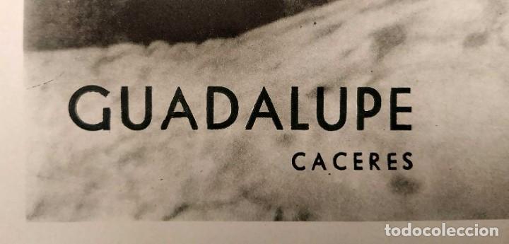 Carteles de Turismo: CARTEL: BELLEZAS DE ESPAÑA. GUADALUPE. CACERES. DIR.GRAL. DEL TURISMO. S. DE KASKEL. 100 x 62 cm. - Foto 4 - 235260660