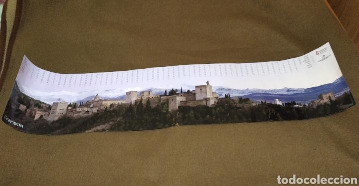 Carteles de Turismo: Poster lamina Granada la Alhambra calendario 2009 - Foto 2 - 238014105