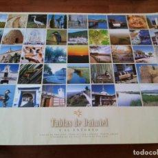 Carteles de Turismo: CARTEL DE TURISMO - LAS TABLAS Y SU ENTORNO 6 PUEBLOS - JUNTA DE CASTILLA - LA MANCHA. Lote 243223805