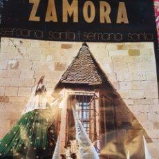 Carteles de Turismo: GRAN CARTEL SEMANA SANTA ZAMORA. LA ESPERANZA. 98 X 62 CM. FORMATO GRANDE. AÑO 1971. Lote 243790065