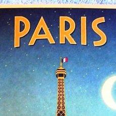 Carteles de Turismo: CARTEL POSTER - RETRO VINTAGE - PARIS TORRE EIFFEL, FRANCIA.. Lote 288331253