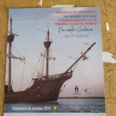 Carteles de Turismo: CARTEL (CONMEMORACIÓN DE LA PRIMERA VUELTA AL MUNDO). Lote 252250275