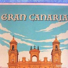 Carteles de Turismo: CARTEL POSTER RETRO TURISMO - GRAN CANARIA, SPAIN - CANARIAS, ESPAÑA.. Lote 268605584