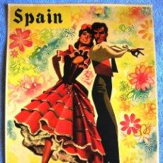 Carteles de Turismo: CARTEL POSTER RETRO - SPAIN - IBERIA LINEAS AEREAS DE ESPAÑA - MUY BUEN ESTADO.. Lote 288330868