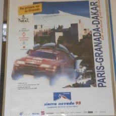 Carteles de Turismo: CARTEL PARÍS- GRANADA-DAKAR. Lote 271615703
