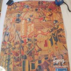 Carteles de Turismo: ANTIGUO CARTEL 1986 MAPA TURÍSTICO DE CASTILLA LAMANCHA. GUADALAJARA. Lote 272763533