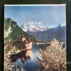 Carteles de Turismo: FOTO - LAMINA CARTEL PAISAJE KAGO. Lote 286405508