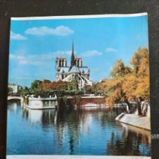 Carteles de Turismo: FOTO LAMINA, CARTEL NORTE DAME , PARIS. Lote 286413788