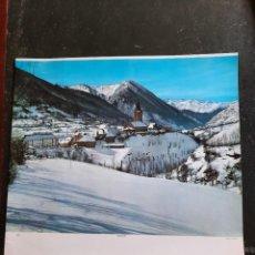 Carteles de Turismo: FOTO LAMINA, CARTEL , PAISAJE NEVADO. Lote 286432453