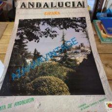 Carteles de Turismo: CARTEL PUBLICITARIO ANDALUCIA, MARTOS, JAEN, 1985, 50X70 CMS. Lote 289816573