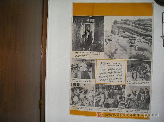 **GRAN CARTEL,----ESCUELA DE MINAS DE COLORADO (1944)---- ¡¡¡¡ UNA JOYA !!!! ** (Coleccionismo - Carteles Gran Formato - Carteles Varios)