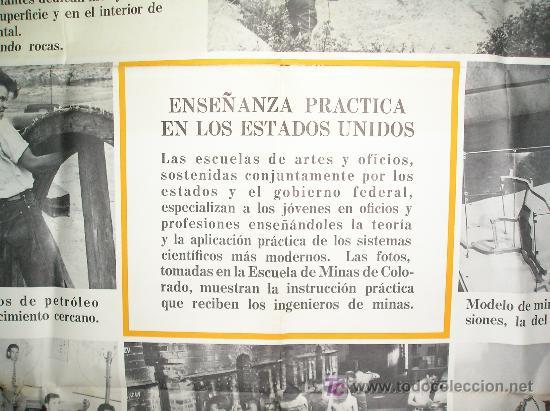 Carteles: **GRAN CARTEL,----ESCUELA DE MINAS DE COLORADO (1944)---- ¡¡¡¡ UNA JOYA !!!! ** - Foto 2 - 26428318