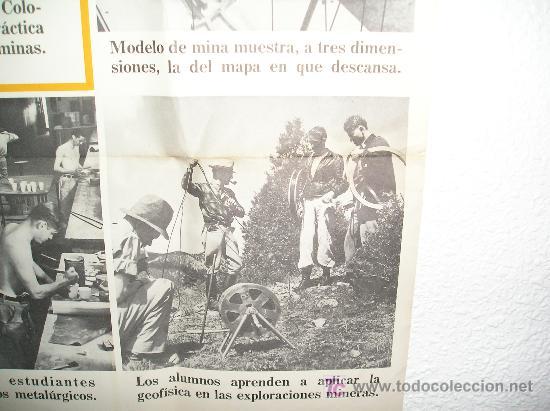 Carteles: **GRAN CARTEL,----ESCUELA DE MINAS DE COLORADO (1944)---- ¡¡¡¡ UNA JOYA !!!! ** - Foto 4 - 26428318