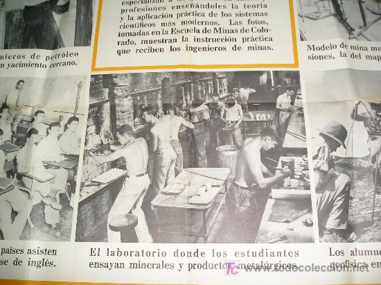Carteles: **GRAN CARTEL,----ESCUELA DE MINAS DE COLORADO (1944)---- ¡¡¡¡ UNA JOYA !!!! ** - Foto 5 - 26428318