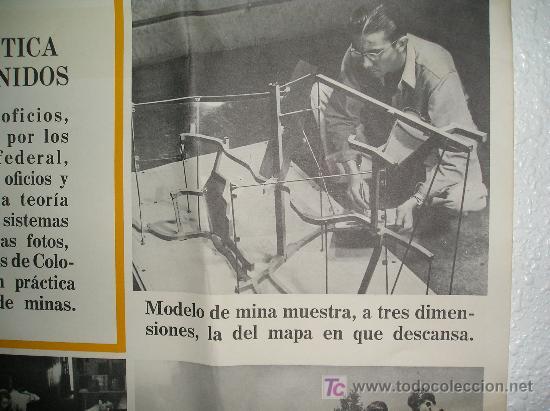 Carteles: **GRAN CARTEL,----ESCUELA DE MINAS DE COLORADO (1944)---- ¡¡¡¡ UNA JOYA !!!! ** - Foto 7 - 26428318