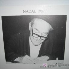 Carteles: CATALAGO NADAL DE JOSEP PLA TRES PINZELLADES. Lote 8293004