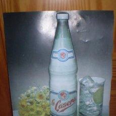 Carteles: CARTEL DE LA CASERA. EN RELIEVE.. Lote 18881854