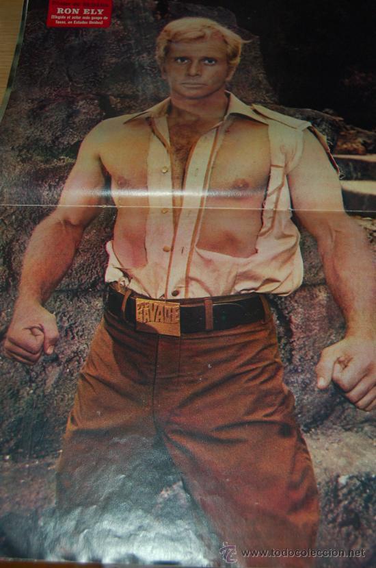 RON ELY ( DOC SAVAGE ) : PÓSTER DE MEDIADOS DE LOS AÑOS 70 (Coleccionismo - Carteles Gran Formato - Carteles Varios)
