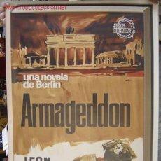 Carteles: ARMAGEDDON - UNA NOVELA DE BERLIN - LEON URIS - AÑO 1965 - LITOGRAFIA. Lote 16790824