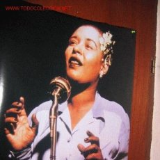 Carteles: BILLIE HOLIDAY POSTER. Lote 13330327