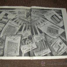 Carteles: TALLERES SANZ, VALENCIA PUERTO. PRIMEROS 40.. Lote 25819114