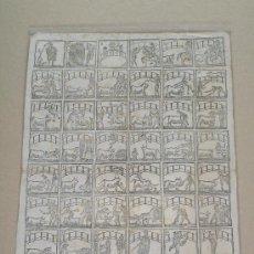 Carteles: ALELUYA - AUCA . CORRIDA DE TOROS ( HACIA 1830 ) MEDIDAS 30 X 41. Lote 26645585