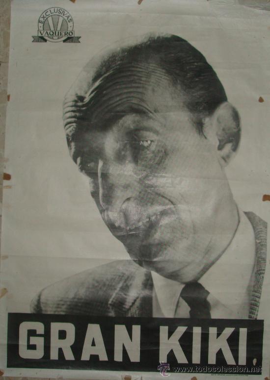 GRAN KIKI-CARTEL ORIGINAL DE 1966-RF/CARTEL-12 (Coleccionismo - Carteles Gran Formato - Carteles Varios)