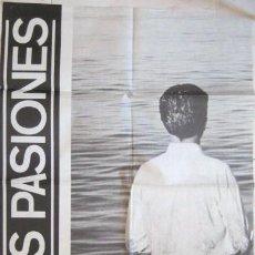 Carteles: CARTEL DEL GRUPO BAJAS PASIONES. 1985. . ENVIO GRATIS¡¡¡. Lote 24536963