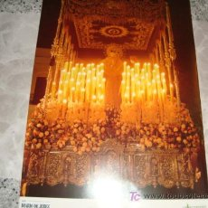 Carteles: GRAN POSTER, 41 X 28 CM BRILLO, MARIA SANTISIMA DE LA CONFORTACION. Lote 179329480