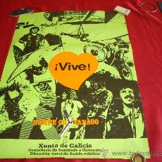 Carteles: VIVE- ROMPE CO TABACO. Lote 27371909