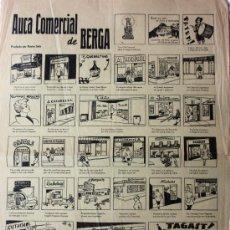 Carteles: AUCA COMERCIAL DE BERGA. Lote 18856404
