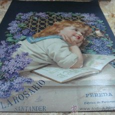 Carteles: CARTEL PUBLICITARIO LA ROSARIO SANTANDER. Lote 25134860