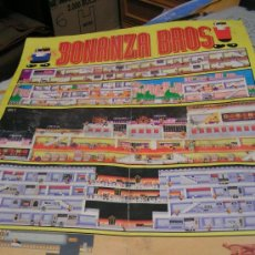 Carteles: CARTEL POSTER BONANZA BROS - MEGADRIVE HOBBY CONSOLAS - MEDIDAS 42 X 57 CM.. Lote 28571589