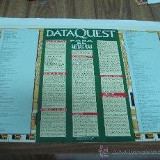 Carteles: POSTERS DE LA REVISTA QUEST.-DATA QUEST PARA EL AMSTRAD CPC 464.-TAMAÑO:40X57CTMS.-. Lote 29960370