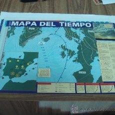 Carteles: POSTERS DE LA REVISTA QUEST.-MAPA DEL TIEMPO.-AÑO 1989.-TAMAÑO:40X57CTMS.-. Lote 29963874