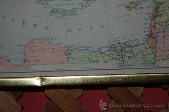 Carteles: MAPA DE EUROPA, PEQUEÑO CARTEL ESCOLAR (1959) - Foto 3 - 30193439