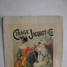 Carteles: LES MAITRES DE L' AFFICHE.CIRAGE JACQUOT.PL.90. Lote 31355860