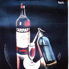 Carteles: CAMPARI VERMOUTH CARTEL 61 X 41 CM.. Lote 31782056